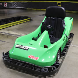 Two Seater Indoor Electric Go Karts